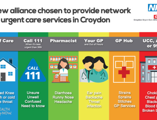 New alliance chosen to provide network of urgent care services in Croydon