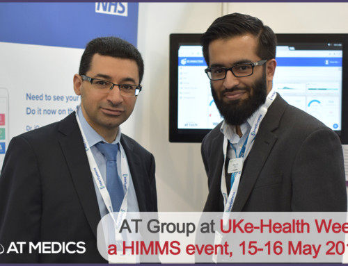 AT Medics attends UK eHealth Week 2018